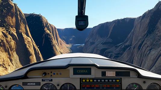 Microsoft Flight Simulator: Poháněno notebooky skartami GeForce RTX řady30