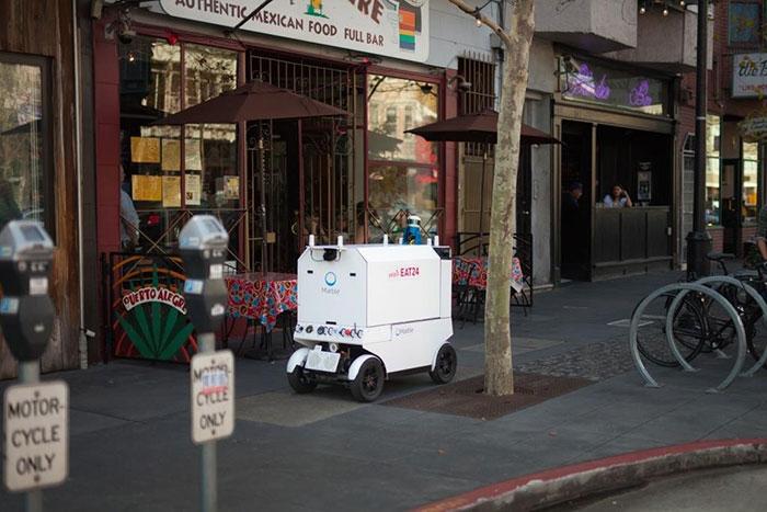 Еда на колесах: Роботы Marble доставляют еду в Сан-Франциско с помощью NVIDIA Jetson