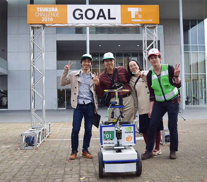 宇都宮大学チームの写真