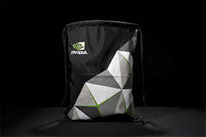 NVIDIA オリジナル布バッグ イメージ画像