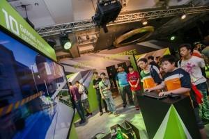 數千位 Computex 遊戲玩家們搶先體驗 NVIDIA GeForce GTX 1080 的無比實力