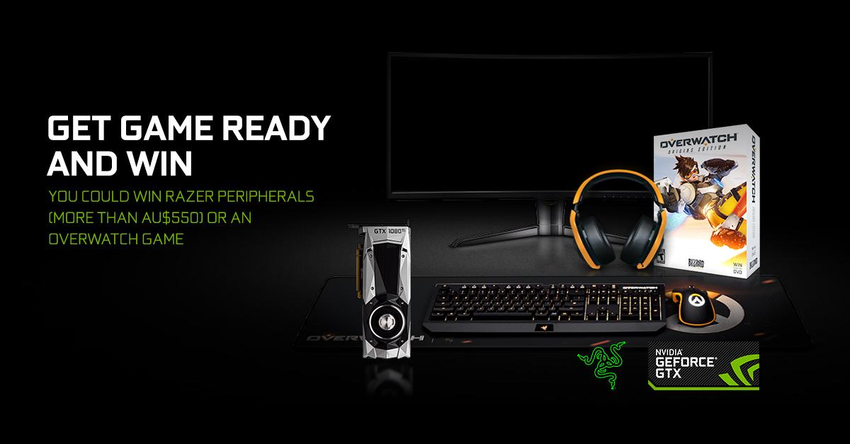 Overwatch Razer Giveaway Promotion | GeForce