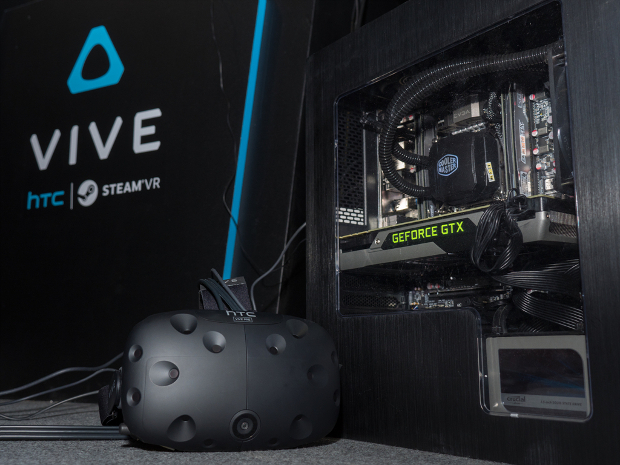 HTC Vive with GeForce GTX
