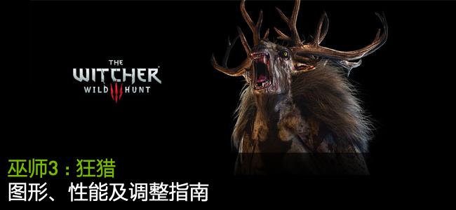 「巫师 3:狂猎 (The Witcher 3: Wild Hunt)」GeForce.com 图形、性能及调整指南