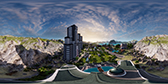 Tropico 6 NVIDIA Ansel in game photo 360 degree