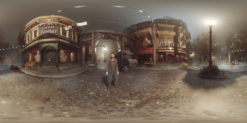 Vampyr NVIDIA Ansel in game photo 360 degree