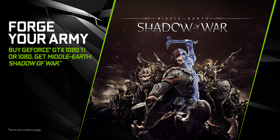 Get Middle-earth: Shadow of War free