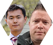 Zhili Chen and Chris Hebert