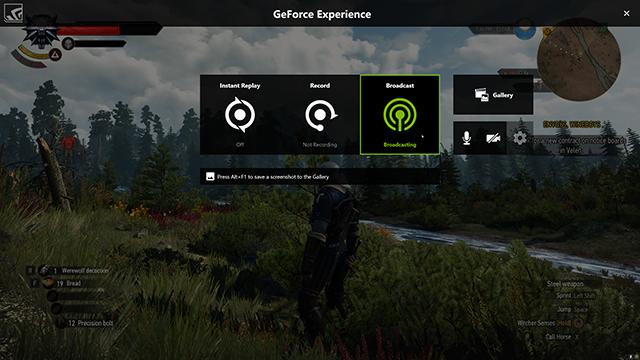 GeForce Experience: Broadcasting Tutorial #0017