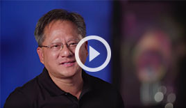 NVIDIA CEO Jensen Huang discusses the benefits of placing GPUs into the cloud.