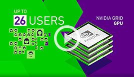 NVIDIA GRID vGPU vs. CPU Only – Siemens NX Horizon View with VMware Horizon and vSphere