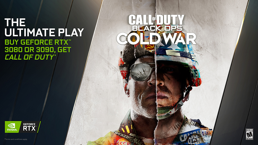 Call of Duty: Black Ops Cold War GeForce RTX PC Bundle