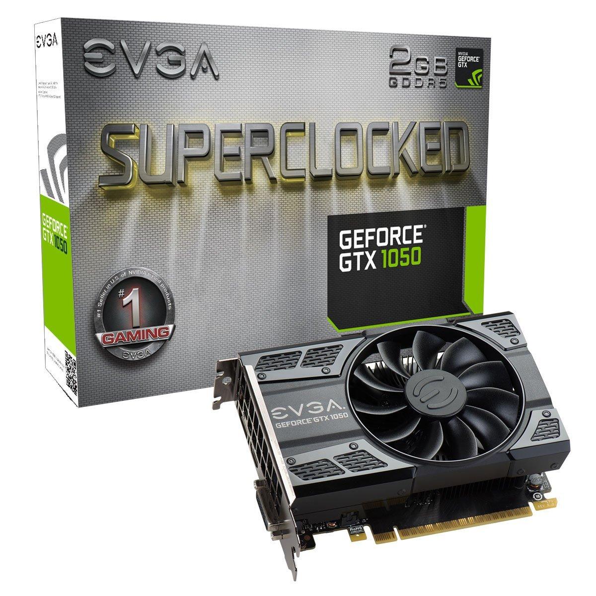 EVGA GeForce GTX 1050 2GB SC GAMING Graphics Card | 02G-P4-6152-KR