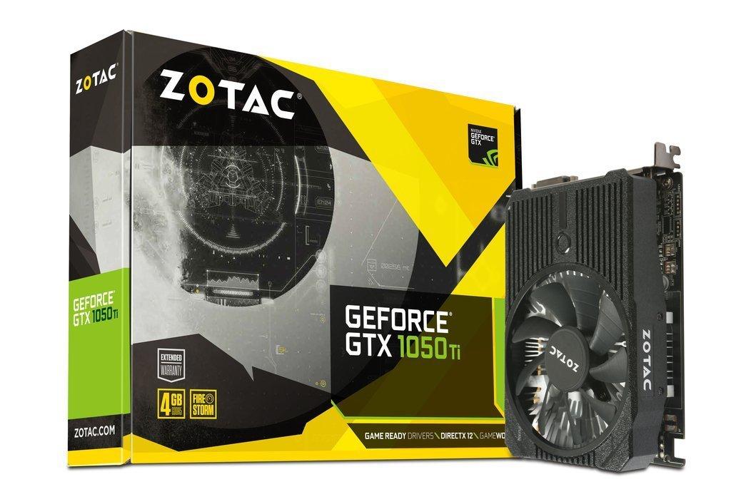 ZOTAC GeForce GTX 1050 Ti Mini 4GB Graphics Card | ZT-P10510A-10L