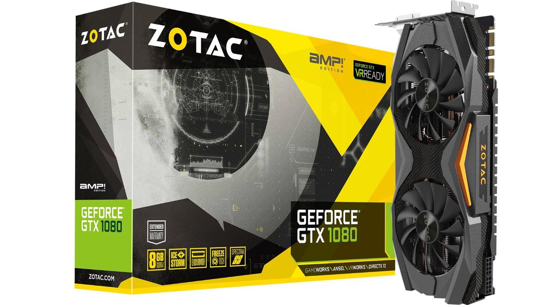 ZOTAC GeForce GTX 1080 AMP! Edition 8GB VR Ready Graphics Card | ZT-P10800C-10P