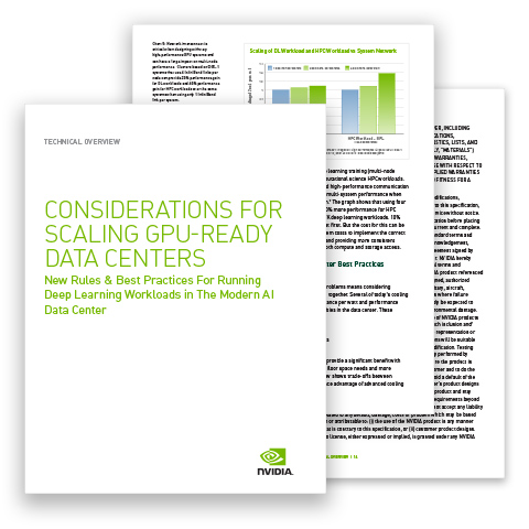 Considerations for Scaling GPU-Ready Data Centers Technical Overview