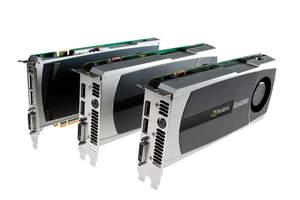 NVIDIA Quadro 4000、Quadro 5000與Quadro 6000專業級繪圖卡
