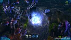 藉由Tegra 3的四核心技術,NVIDIA(輝達)的「Glowball Part 2」遊戲展示,充分展現行動繪圖的無限可能。