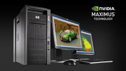 搭載NVIDIA Maximus的HP Z800工作站