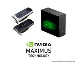 搭載NVIDIA Maximus的工作站— NVIDIA Quadro + NVIDIA Tesla C2075