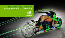 Create Without The Wait. NVIDIA Maximus Technology