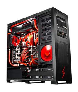 加入了NVIDIA GeForce GTX 580顯示卡3-way SLI的驚人效能以及Intel的全新i7-3960X處理器,Digital Storm Hailstorm已成為極限效能的最佳證明。