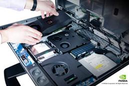 새로운 엔비디아 쿼드로 올인원 외장 GPU 와 HP Z1 올인원 워크스테이션