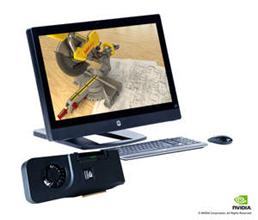 엔비디아 쿼드로 전문가용 그래픽 솔루션을 탑재한 올인원 워크스테이션 HP Z1 (2)