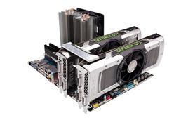 두 대의 지포스 GTX 690으로 구성된 쿼드 SLI 모드로, 게이머는 일제히 동시 작동하는 네 개의 GPU를 통해 신세계를 경험할 수 있다.