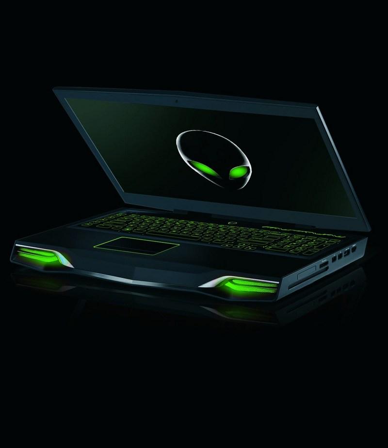 에일리언웨어 M18x 노트북은 지포스 GTX 680M 단일 GPU 혹은 SLI 구성으로 제공된다.