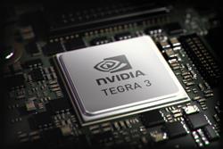 Tegra 3は最高のパフォーマンスと優れたバッテリー寿命を持つ4-PLUS-1(TM)クアッドコアアーキテクチャが特徴