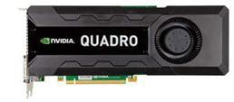 NVIDIA Quadro K5000 プロフェッショナル グラフィックスカード - 前面ショット