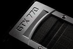 새로운 엔비디아 지포스 GTX 770 GPU는 $399라는 합리적인 가격으로 전례 없는 PC 게임 성능을 제공한다.