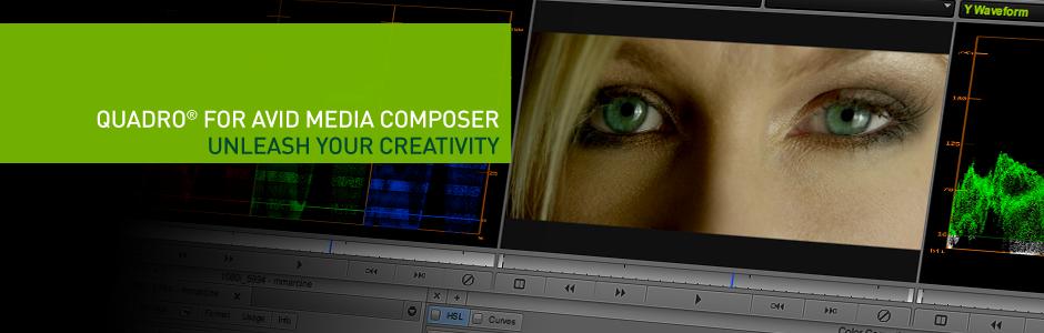 Quadro For AVID MEDIA Composer