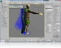 3ds Max with PhysX plug-in