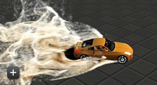 湍流模擬展示影片