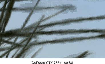 GeForce GTX 285: 16x AA