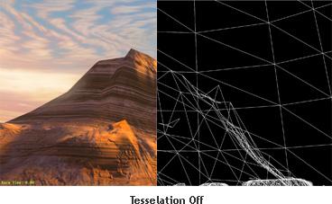 Tessellation OFF