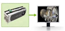 Визуализация кадров NVIDIA SLI