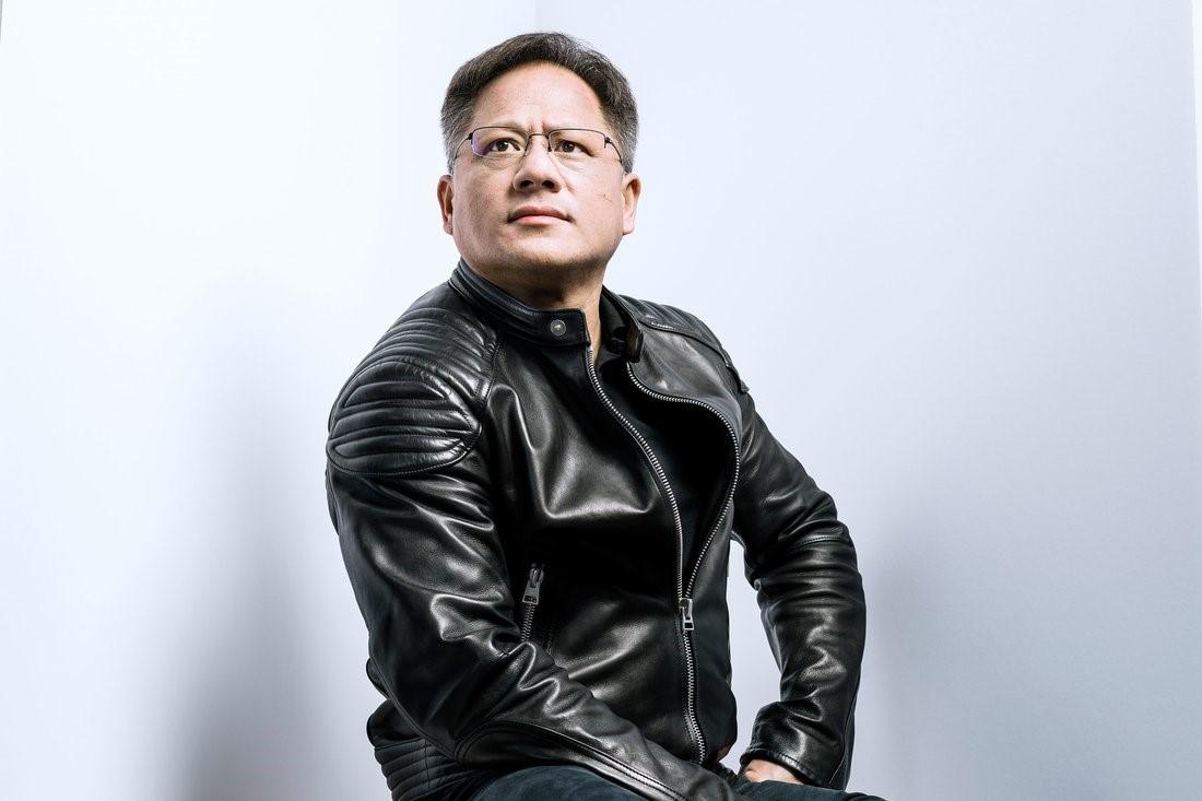 "Jen-Hsun ""Jensen"" Huang, photographed at Nvidia headquarters on Nov. 3, 2017."