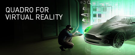 Quadro for Virtual Reality