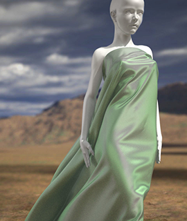 Woman rendered with mental ray v3.13.