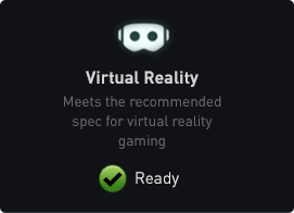 "Check ""Virtual Reality"" box for verification"""