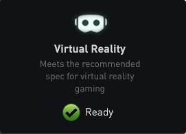"Check ""Virtual Reality"" box for verification"""