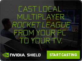 SHIELD GameStream Rocket League