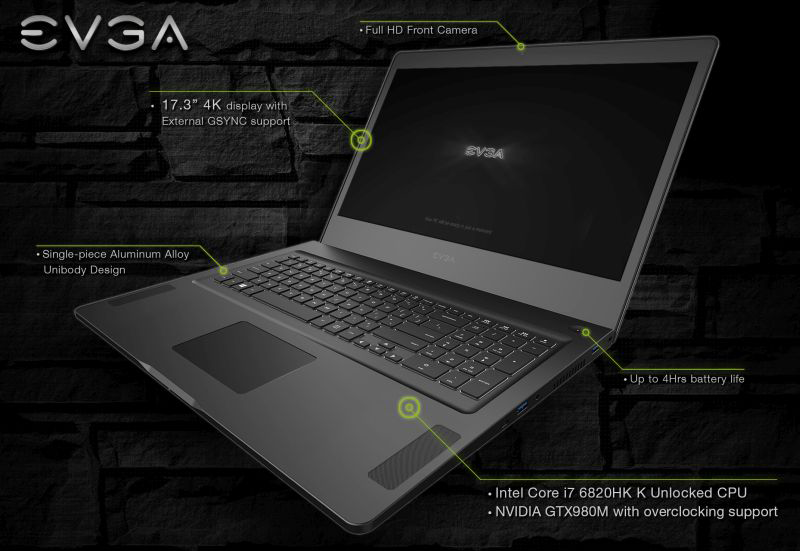 SC-17 Gaming Notebook