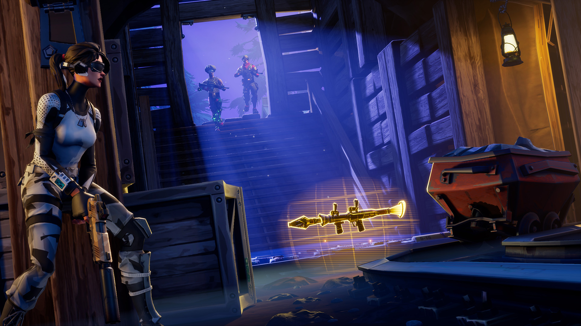 jump into fortnite s free to play battle royale and share