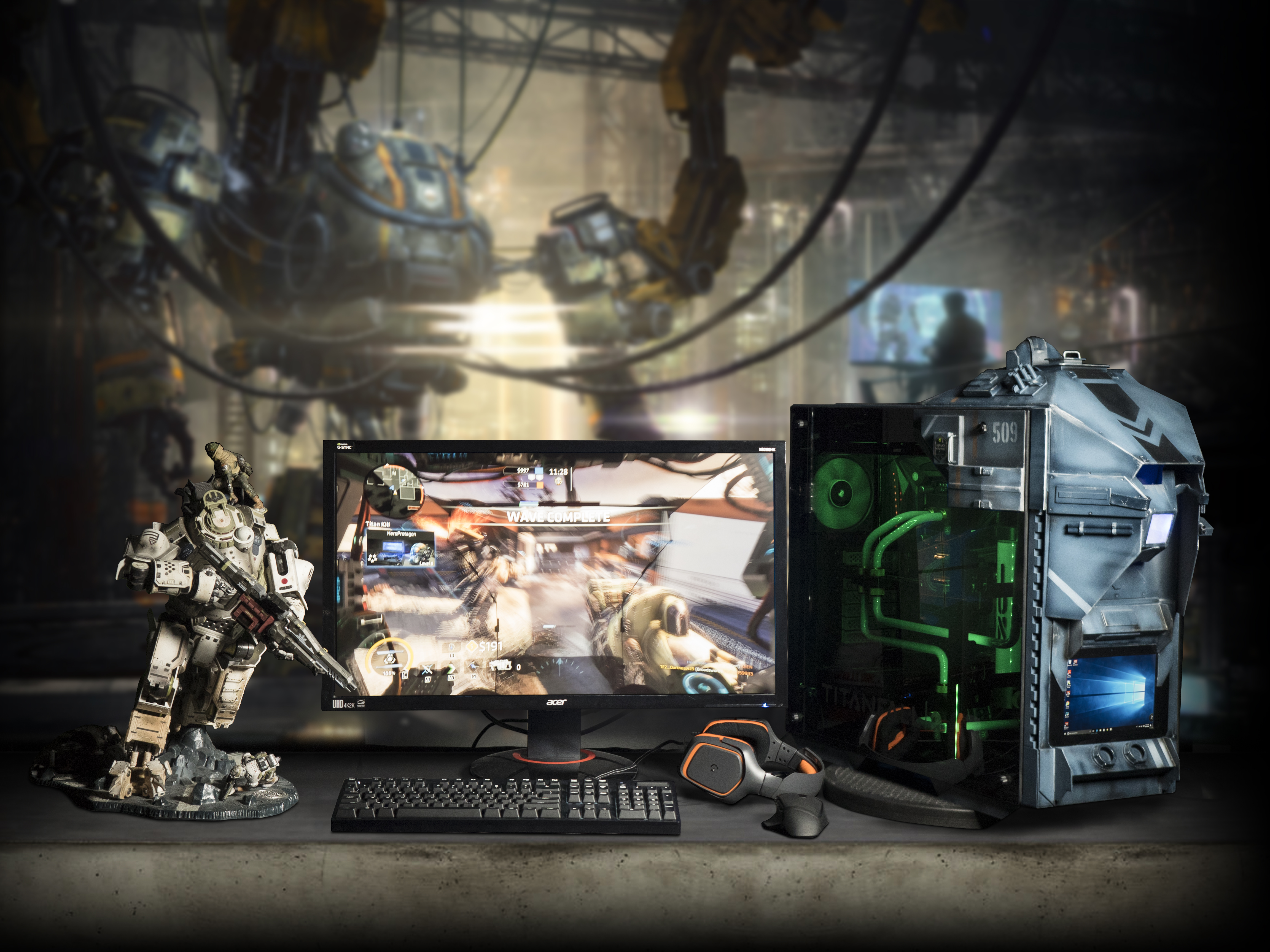 Rig Spotlight: Win This Titanfall 2 Ion 509!