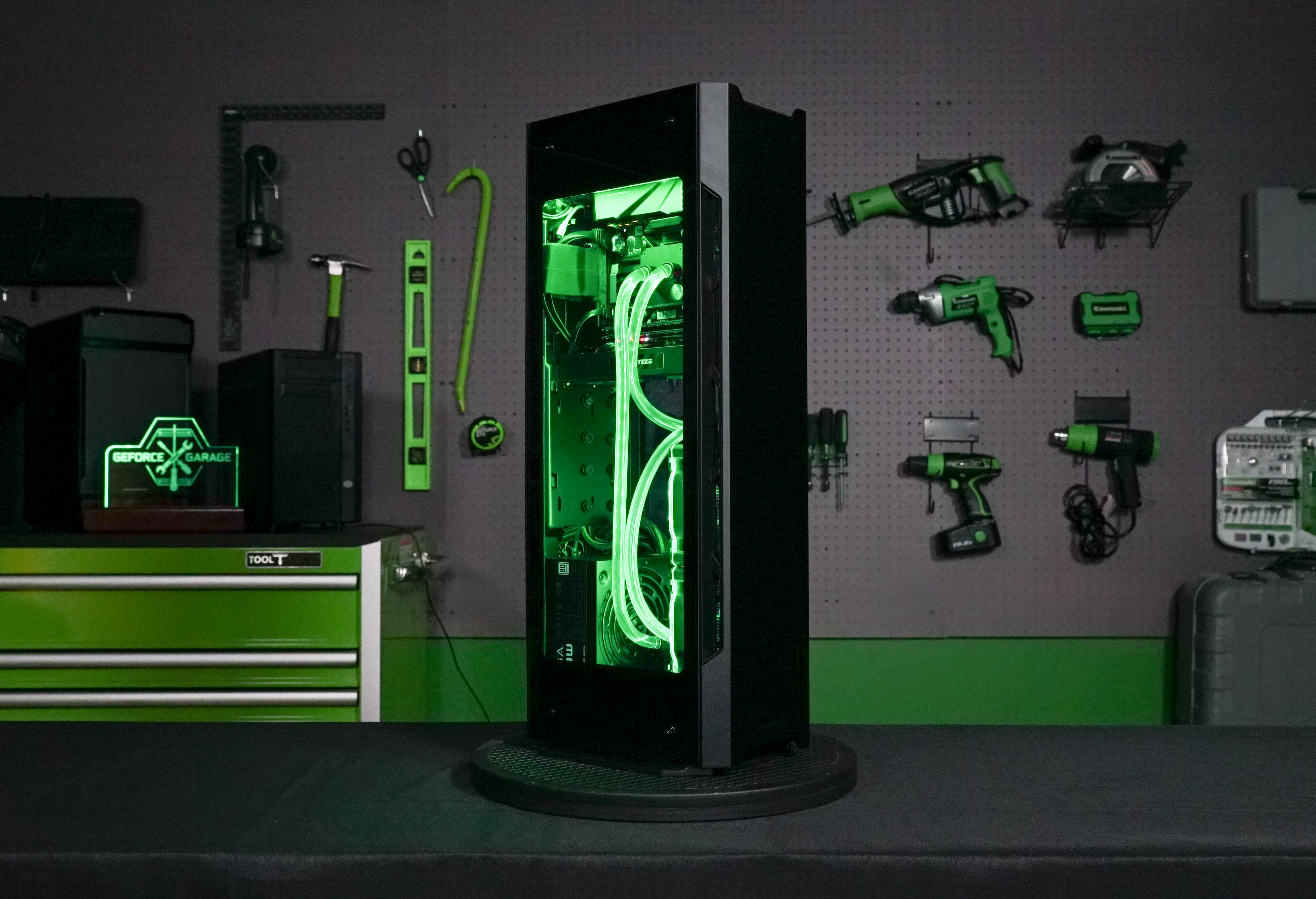 GeForce Garage: Building A Small Form Factor LAN Box   GeForce