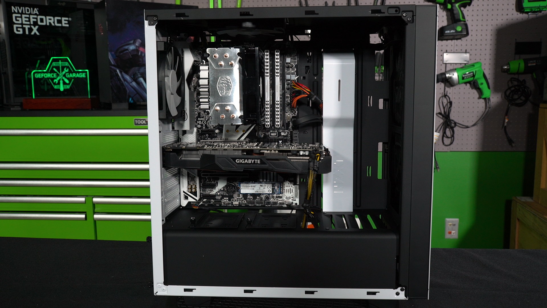 Geforce Garage Building A Mid Level Gtx 1070 Gaming Pc Ultimate Basic Electronics Guide Build Electronic Circuits With Our 1050 Entry Complete Focus Is Now On The More Demanding Gamer Armed Budget Just North Of 1000